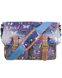 Satchel with butterfly