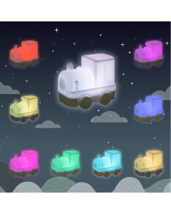 Train Kids Night Light with remote control