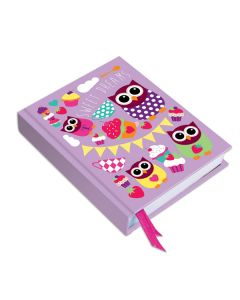 Hardback Owl Notebook
