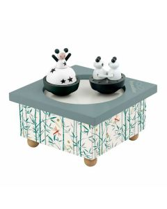Baby Music Boxes - Girl with Panda - Personalisable