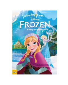 Girl's Personalised Frozen Book