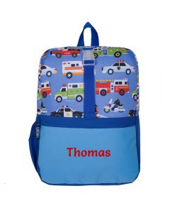 Personalised Action Vehicles Backpacks