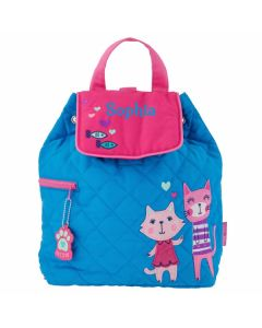Personalised Toddler Backpack Cat