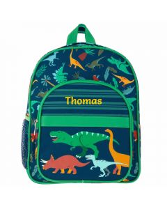Personalised boy toddler Dinosaur backpack