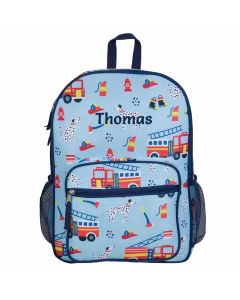 Children's Fire Engine Backpack - Personalisable