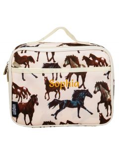 Personalised Lunch bag Horses