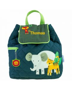 Personalised Toddler Backpack- Safari Animals