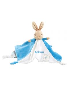 Personalised Peter Rabbit Baby Comforter