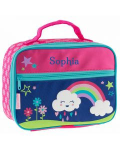 Personalised rainbow lunchbox