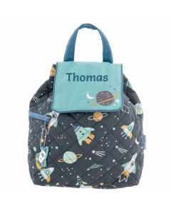 Toddler Backpack Personalised - Rockets
