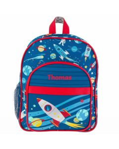 Space Kids Backpack Personalised