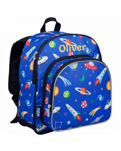 Personalised Space Toddler Backpack