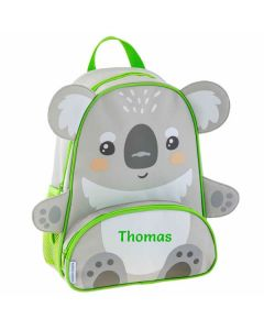 Personalised children backpack koala bear