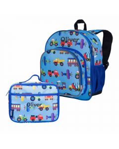 Toddler backpack with lunchbox