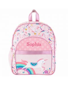 Rainbow Unicorn Children's Backpack - Personalisable