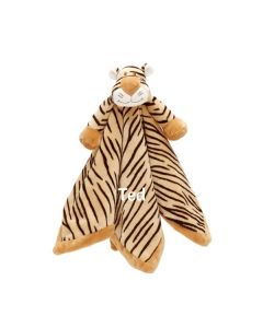 Personalised Tiger Baby Comforter