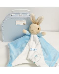 Peter Rabbit Baby Comforter Gift Set