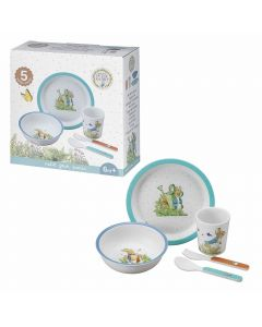 Peter Rabbit Melamine Blue Gift Set