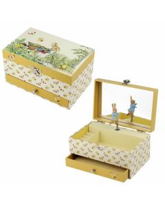 Large Peter Rabbit Music Box - Personalisable