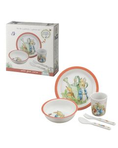 Kids Peter Rabbit Melamine Dinner Set