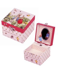 Peter Rabbit Pink Music Box