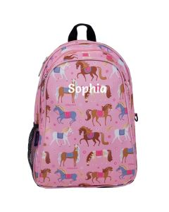 Personalised Horses Backpack Girls