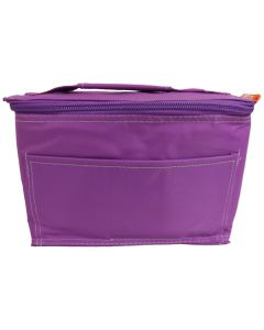 Purple Insulated Cooler Bag