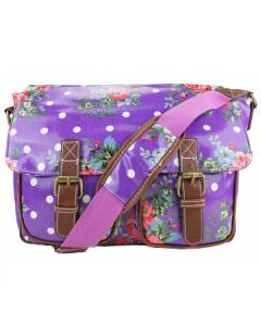 Purple school satchel