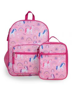 Unicorn Backpack & Lunch Bag Set