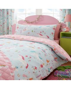 Children's Unicorn Duvet Cover Set