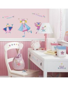 Fairy Princess Wall Stickers
