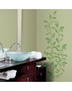 Leaf Scroll Wall Stickers