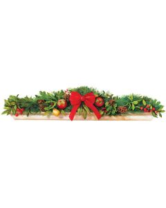 Christmas Mantlepiece Wall Stickers by RoomMates