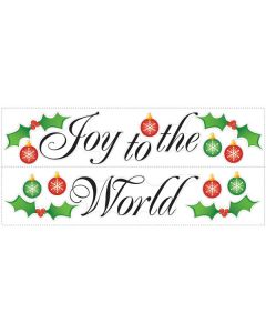 Joy To The World Wall Sticker Quotes