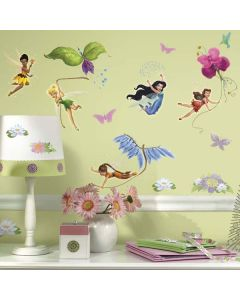 Girls Disney Fairies Wall Stickers