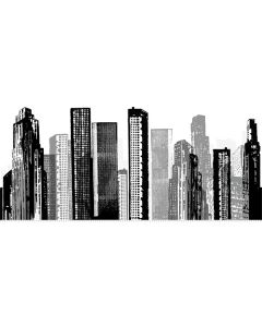 Giant Cityscape Wall Sticker by RoomMates