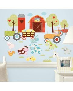 Happi Barnyard Wall Stickers