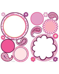 Paisley Dry Erase Shape Wall Stickers by RoomMates