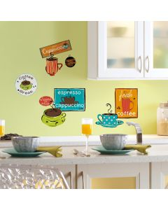 Cafe Wall Stickers by RoomMates