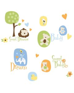Modern Baby Nursery Wall Stickers by RoomMates