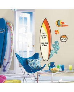 Surf Dry Erase Wall Stickers by RoomMates