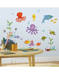 Under The Sea Wall Stickers by RoomMates