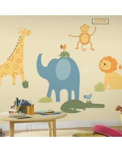 Zoo Animals Giant Wall Stickers by RoomMates