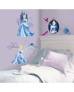 Disney Cinderella Glamour Wall Stickers