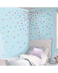 Glitter Confetti Dots Wall Stickers