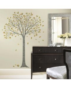 Giant Pink Blossom Tree Wall Sticker