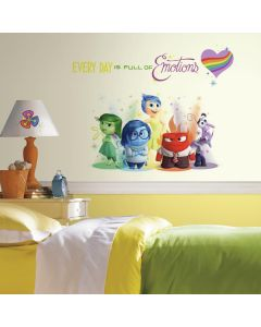 Children's Inside Out Wall Stickers - Full of Emotions
