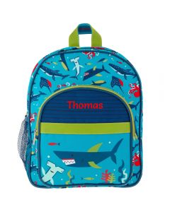 Personalised Toddler Backpacks - Sharks