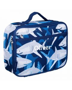 Personalised Shark Lunch Bag