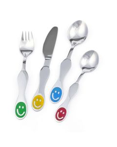 Smiley Faces Children's Cutlery Set